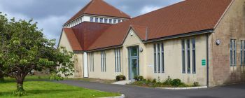Front view of the Southdown Church Centre